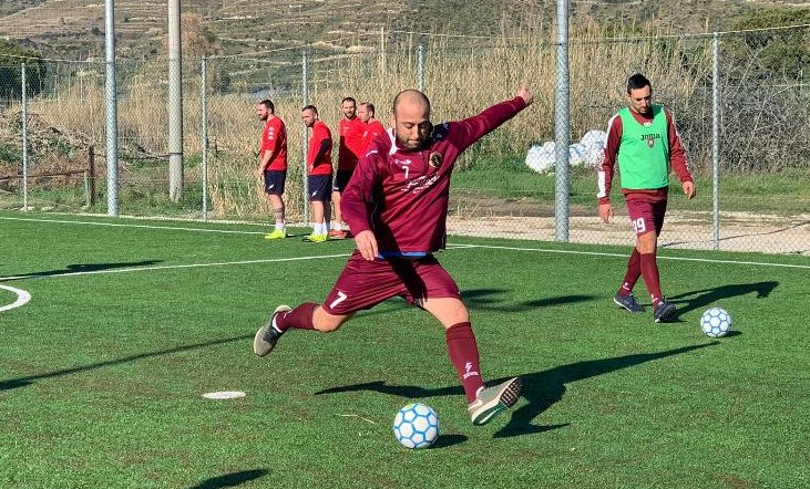 Francesco Zevola, capitano dell'Olympique Sinope