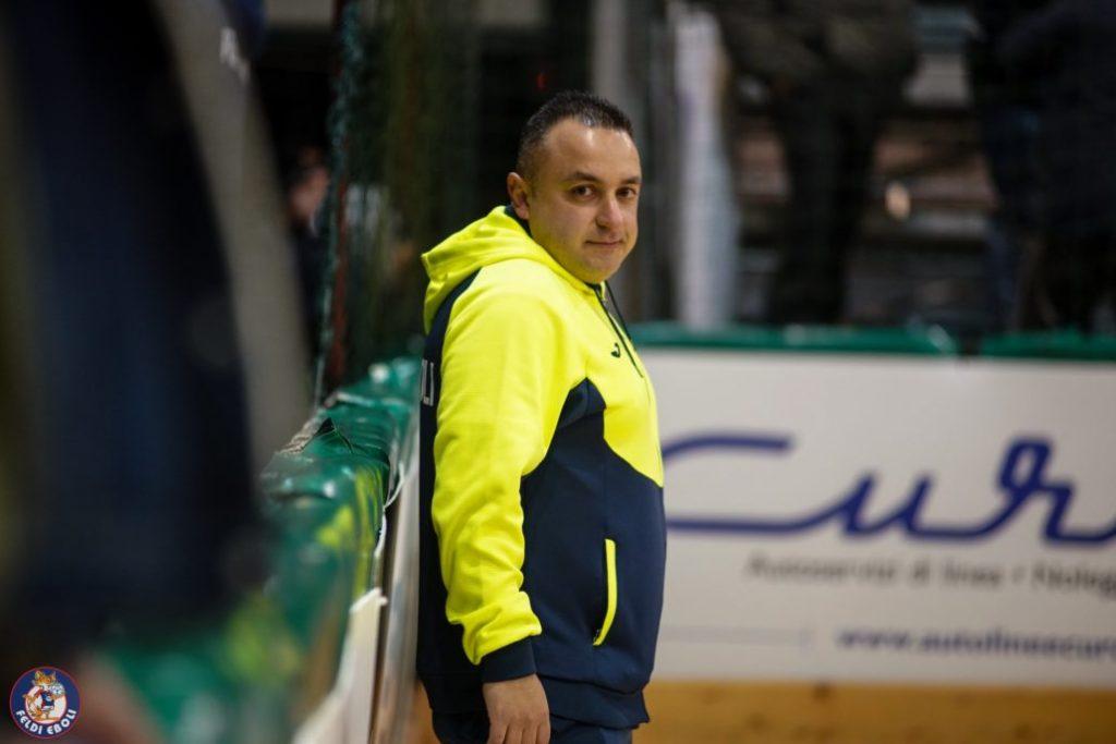 Francesco Fusella, team manager Feldi Eboli