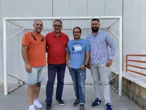 Ivan Oranges con la governance della Napoli Barrese