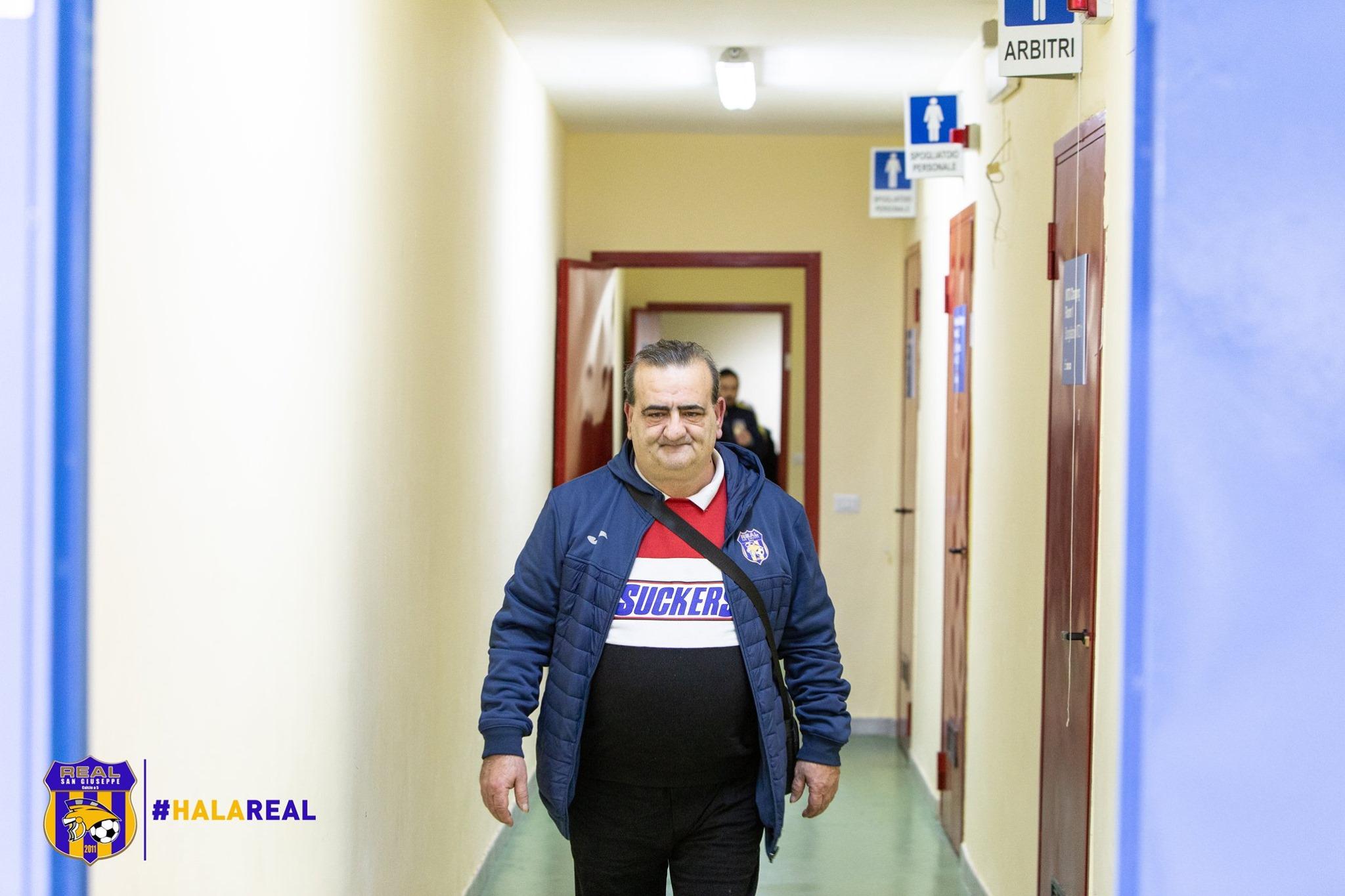 Il team manager Peppe Costantino in una foto di Francesco Sollo