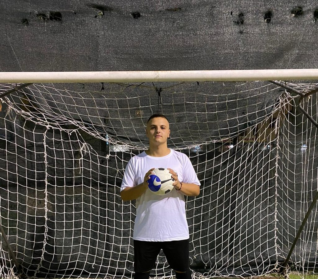 Francesco Calicchio, portiere Campana Futsal