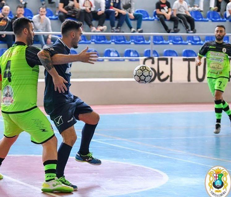 Alessandro Maravolo in azione con la maglia dell'Unina PH: Alessandro Ascione