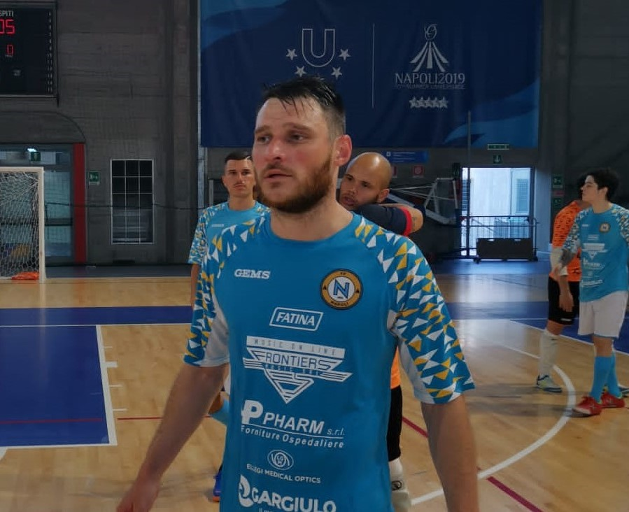 Luis Turmena in maglia Napoli
