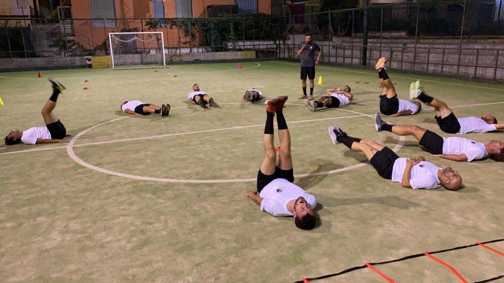 Preparazione Campana Futsal 2