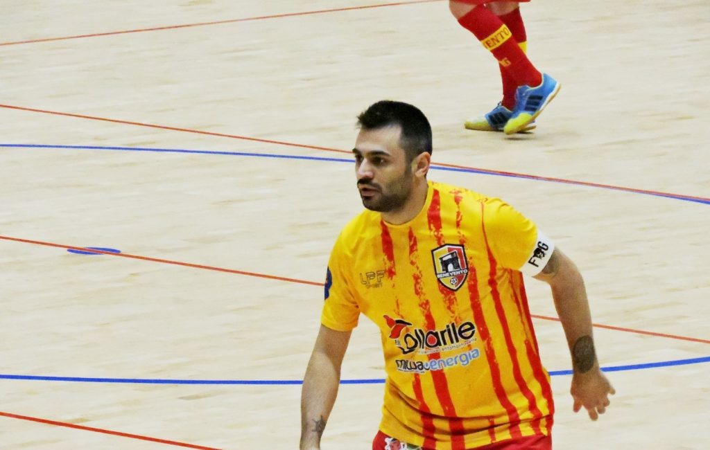 Nico Serino, capitano Benevento