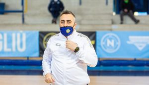 Piero Basile, tecnico FF Napoli  Foto: Sollo