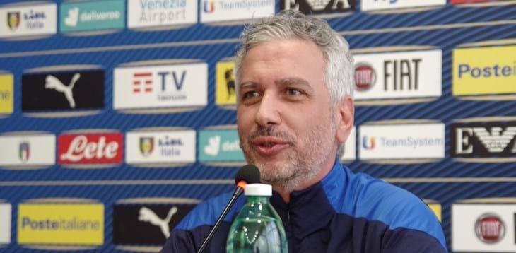 Massimiliano Bellarte, commissario tecnico della nazionale italiana Credit: Figc