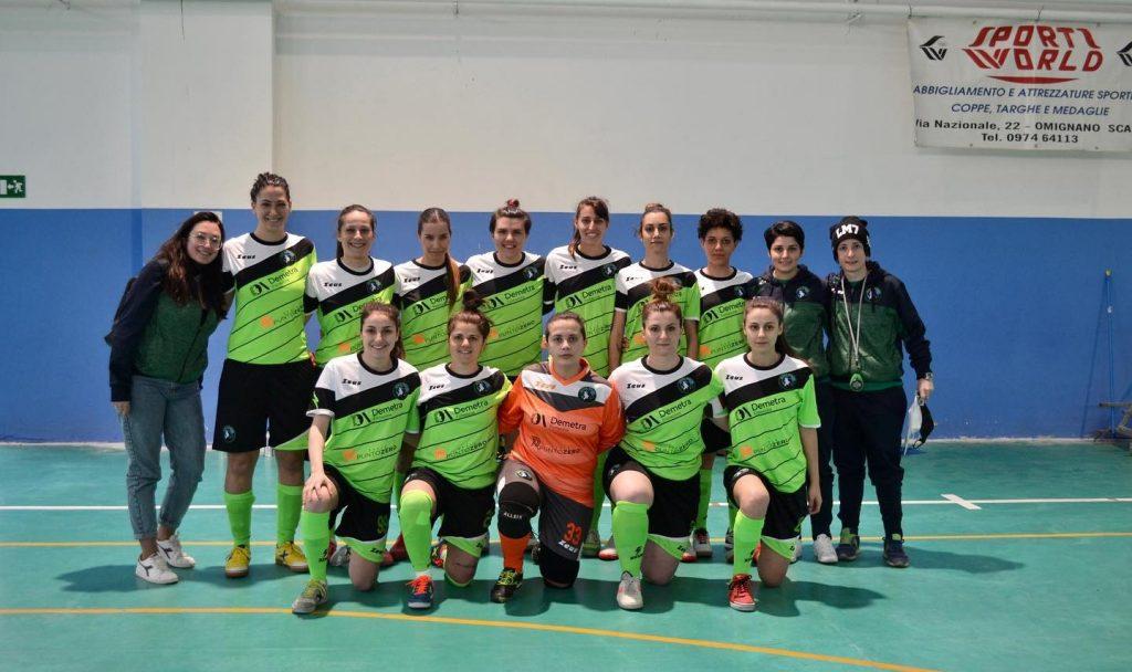 Le ragazze del Futsal Wolves