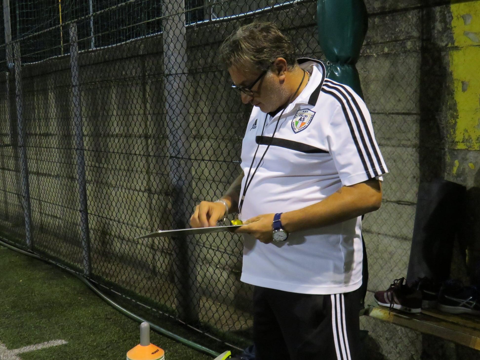 Ciro Barretta, tecnico Real Acerra anche per la stagione 2021-22