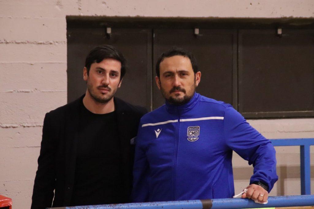 Luciano Miele con Lorenzo Nitti al Cmb