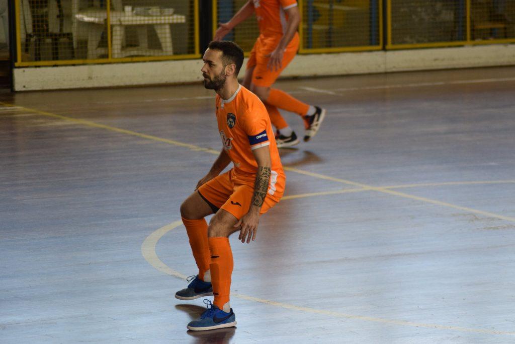 Marco Paduano, nell'ultima stagione capitano dell'AP al PalaJacazzi Foto: Bracale