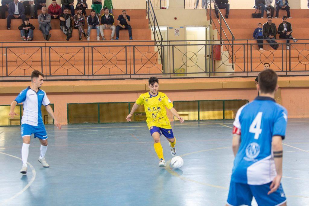 Uno scatto di Tommaso Nuzzo in maglia Real San Giuseppe