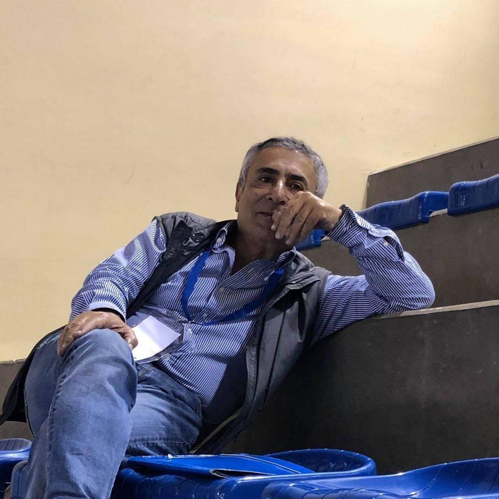 Aldo Apicella, responsabile sezione calcio a 5 Cus Napoli
