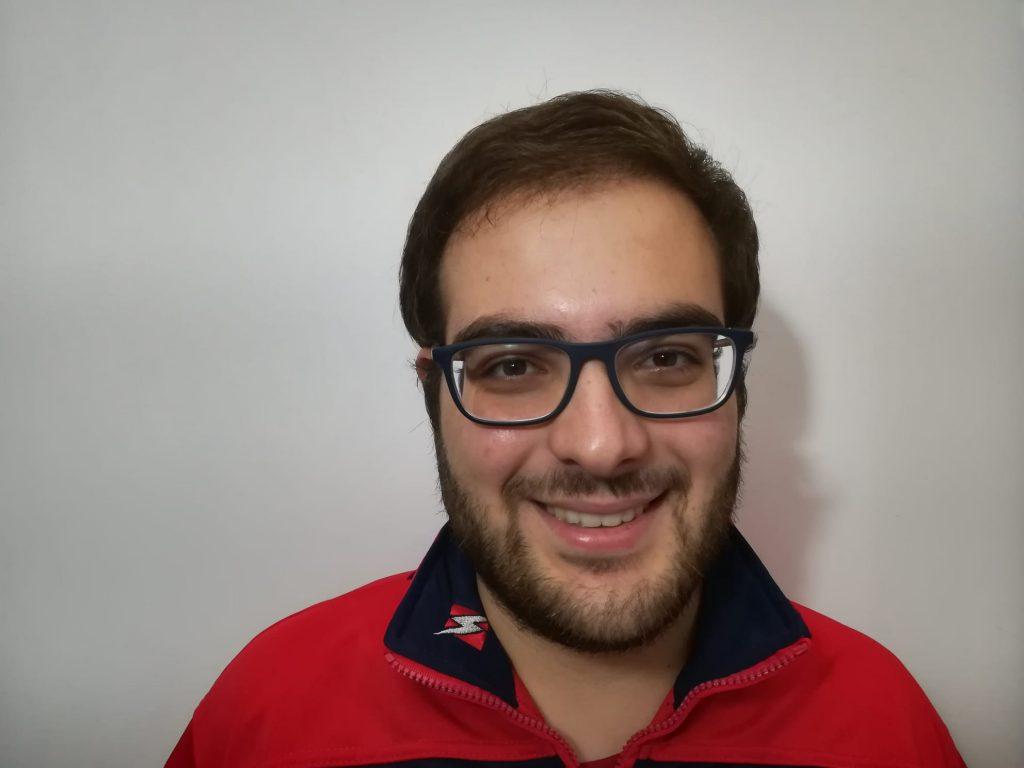 Luca Cunzolo, allenatore Flegrea femminile