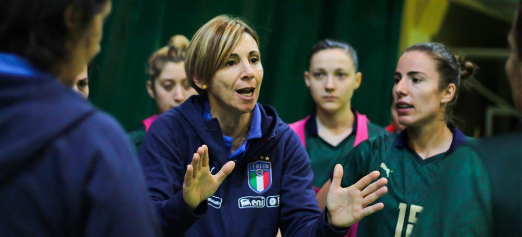 Francesca Salvatore, ct Nazionale italiana femminile